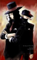 Lucci and Kaku in CP 9 by jjkuin