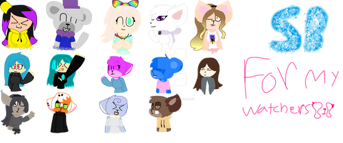 For My Watchers by toychica123456