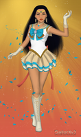 Sailor Princesses: Pocahontas by ItsAndromeda