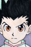Gon Freecs - ACEO Card by SayuriCell