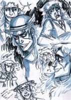 Speedwagon Doodles by Prosciutton