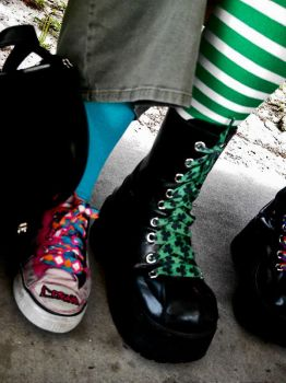 shoes are social by mavourneen