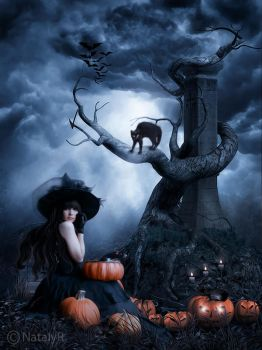 Halloween night by Nataly1st