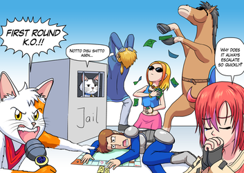 Draw your squad like - Crazy Monopoly by G-Brothers
