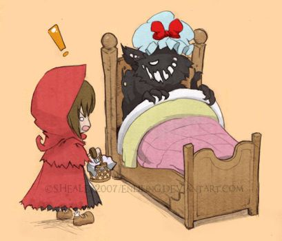 Big Bad Bed. by Endling
