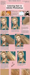 Coloring Hair in Photoshop by mree