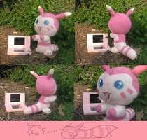 Poke' Plushies: Shiny Furret