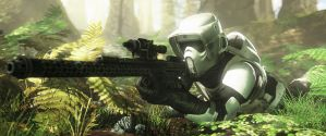 Scout Trooper by Pachyrhinosaurus