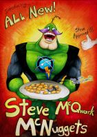 Steve McQwark McNuggets by Lurking-Leanne
