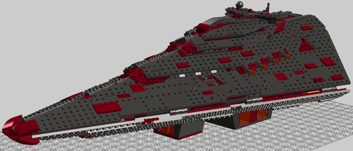 First Order Annexation Class Star Destroyer by Dragonis-Prime