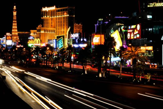 Night IN Vegas by AllysaH-Photography