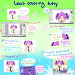 SAI Coloring Tutorial - part 2 by Leaglem