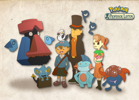 Prof Layton meets Pokemon
