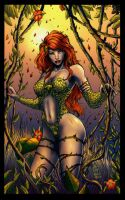 Poison Ivy By Color 2 by gleidsonaraujo