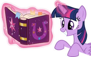 Twilight Sparkle - BOOK! by RAGErER