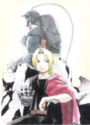 Elric brothers by Nasuki100