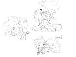 Kisses :sonamy: by Mitzy-Chan