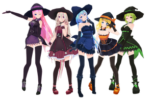 [2018 HALLOWEEN] -TDA Divine Diva Witch- [DL NOW!] by yukiyame
