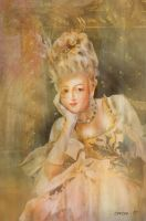 Marie Antoinette by zoozee