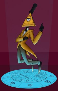 Bill Cipher by Atomic-DNA
