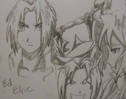 Elric Sketches by No-2B