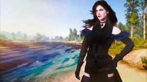Yennefer of Vengerberg by oggepoggelj