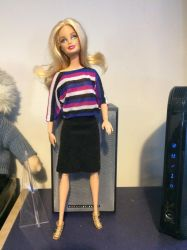 T shirt and skirt by Louvan