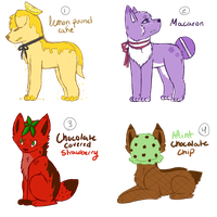 Food Adoptables 2 (CLOSED) by all-type-adopts