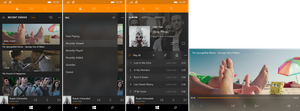 Windows 10 - VLC (phone) by Metroversal
