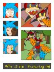 My Life as a blue haired sorceress page 14 by epic-agent-63
