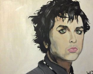 Billie Joe Armstrong Painting by fcagems12