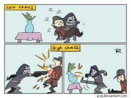 dishonored, doodles 46 by Ayej