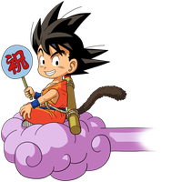 Dragon Ball - kid Goku 27 by superjmanplay2