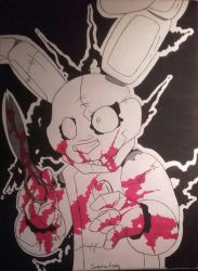 Plushtrap's madness by SideshowFreddy