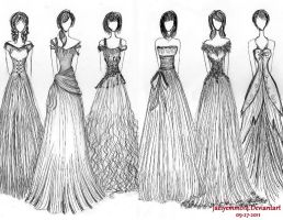 Formal Gowns by JoyceCruz