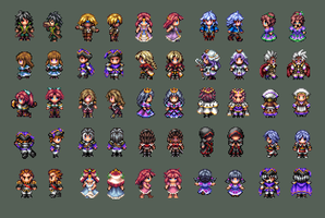R3P Character Sprites by Caladium