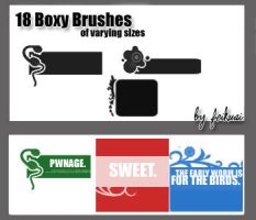 18 Boxy Brushes by thexunknown