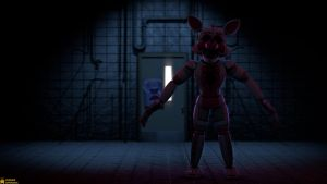 [SFM FNaF 4K] The hunter in the dark by AwesomeSuperSonic
