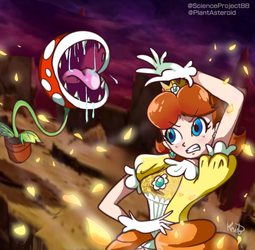 Daisy Final Smash by PlantAsteroid