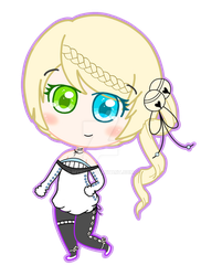Silverblossoms Chibi GIFT by Comux