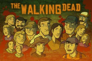 Walking Dead camp by ColtonBalske