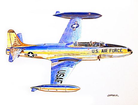 T-33 by johnwickart