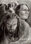 Heroes of the Lonely Mountain by ArtGoldArt