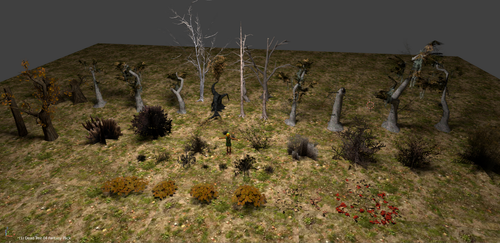 Dead Trees and Brush by CheifWahooMcDaniel