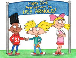 Hey Arnold! It's Your 20th Anniversary by nintendomaximus