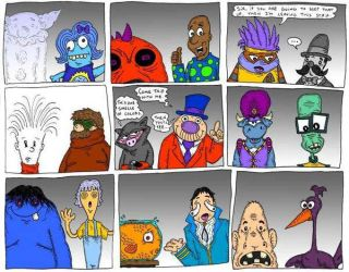 Who's Who 4 by Lordwormm