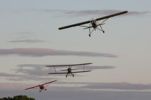 Super Cub, PO2 and Storch by Daniel-Wales-Images