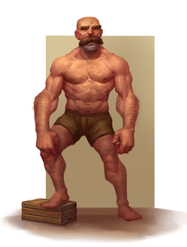Figure/Character Painting by Sam-Peterson