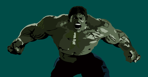 The Incredible Hulk by Mik4g