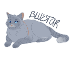 [WARRIOR CATS] Bluestar by nyo-mangata